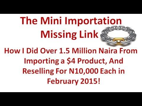 The Mini Import Missing Link Webinar!
