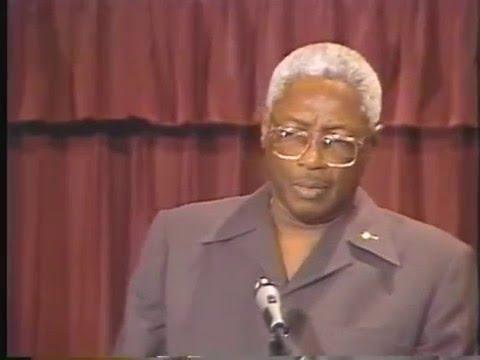 Guyana - President Desmond Hoyte USA Visit 1988