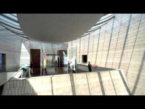 National Music Centre Building Flythrough