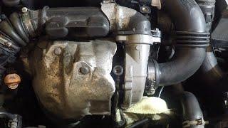 Замена турбины Пежо Peugeot 307 1.6 hdi