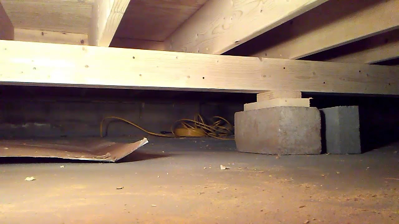 I Show How To Run Wires In A Crawl Space New Construction