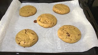 Whole Wheat Millet Choco Chip Cookies | Eggless cookies