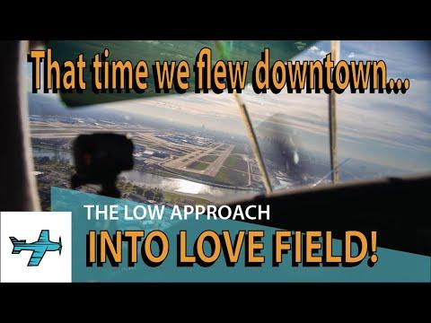 Low Approach Dallas Love Field TakingOff Micro Episode