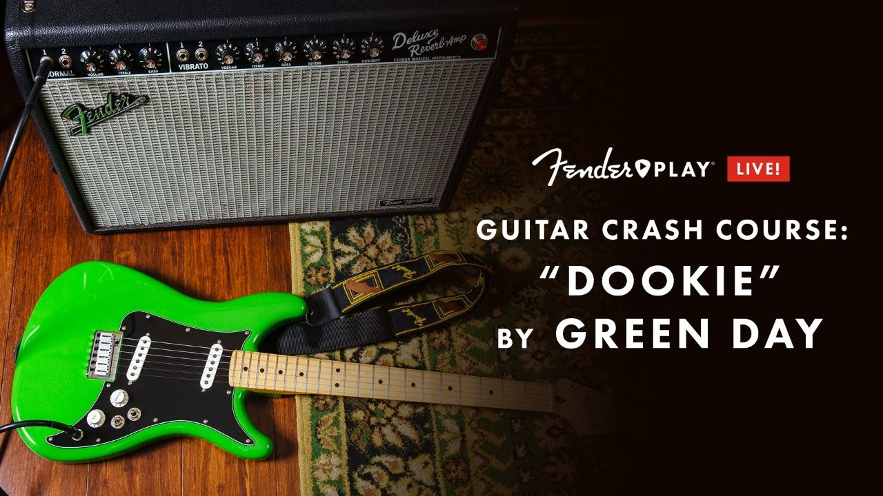 """Guitar Crash Course: """"Dookie"""" by Green Day   Fender Play LIVE   Fender"""