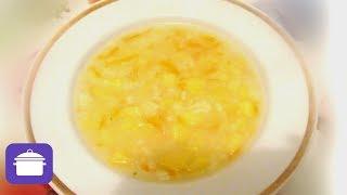 Суп с рисом без зажарки. Первые блюда.