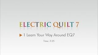 01 Learn Your Way Around – EQ7 Help