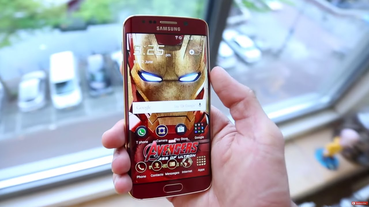 Iron-man movie limited edition samsung galaxy s6 phone mib never.