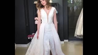 Свадебное платье трансформер Кэсди
