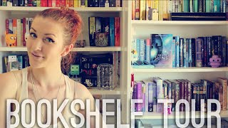 One of Little Book Owl's most viewed videos: BOOKSHELF TOUR | 2015