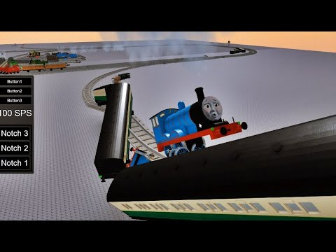 Download THOMAS AND FRIENDS Driving Fails Compilation United Spaghetti Sauce Railroad Accidents Happen 31