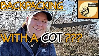 LIGHTWEIGHT COT FOR BACKPACKING: Desert Walker Camping Cot - Backpacking Cot Review