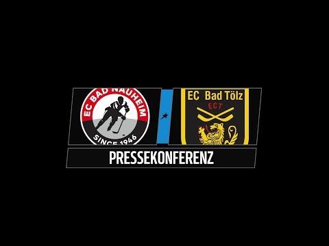 Pressekonferenz 43 Spieltag | EC Bad Nauheim vs. Tölzer Löwen