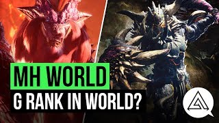 Monster Hunter World News | G-Rank, End Game Content & Future Updates