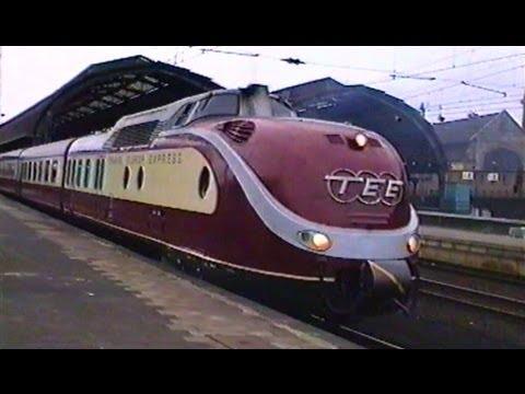 TEE Trans Europ Express - DB 1991 - Baureihe 601 bis 1968 VT 11.5