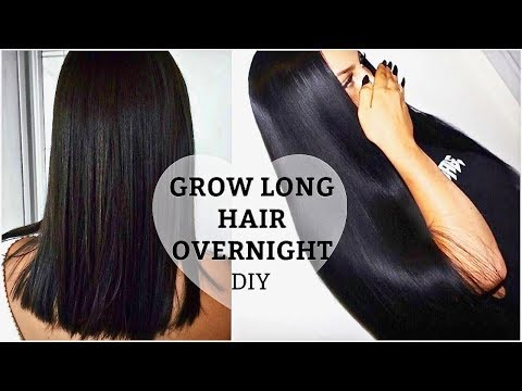 HOW TO GROW LONGER THICKER HAIR Naturally +  Fast    DIY Growth Treatment + Secrets (100% Works)