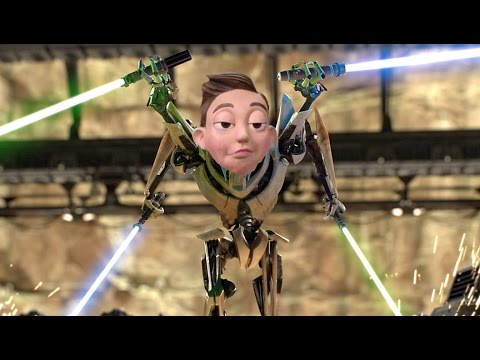 The Mine Song but Stingy turns into General Grievous and adds things to his collection