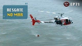 Um Resgate no Mar com o Helicóptero Águia da Polícia Militar