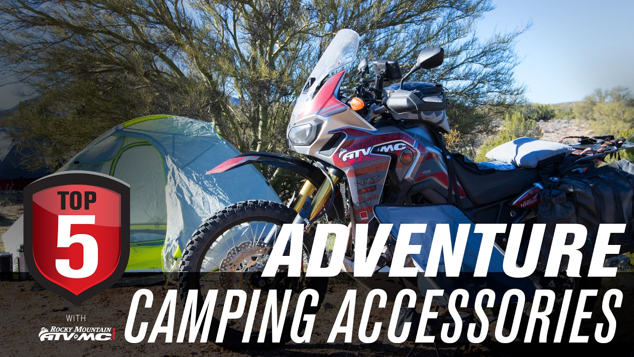 Top 5 Motorcycle ADV Camping Accessories