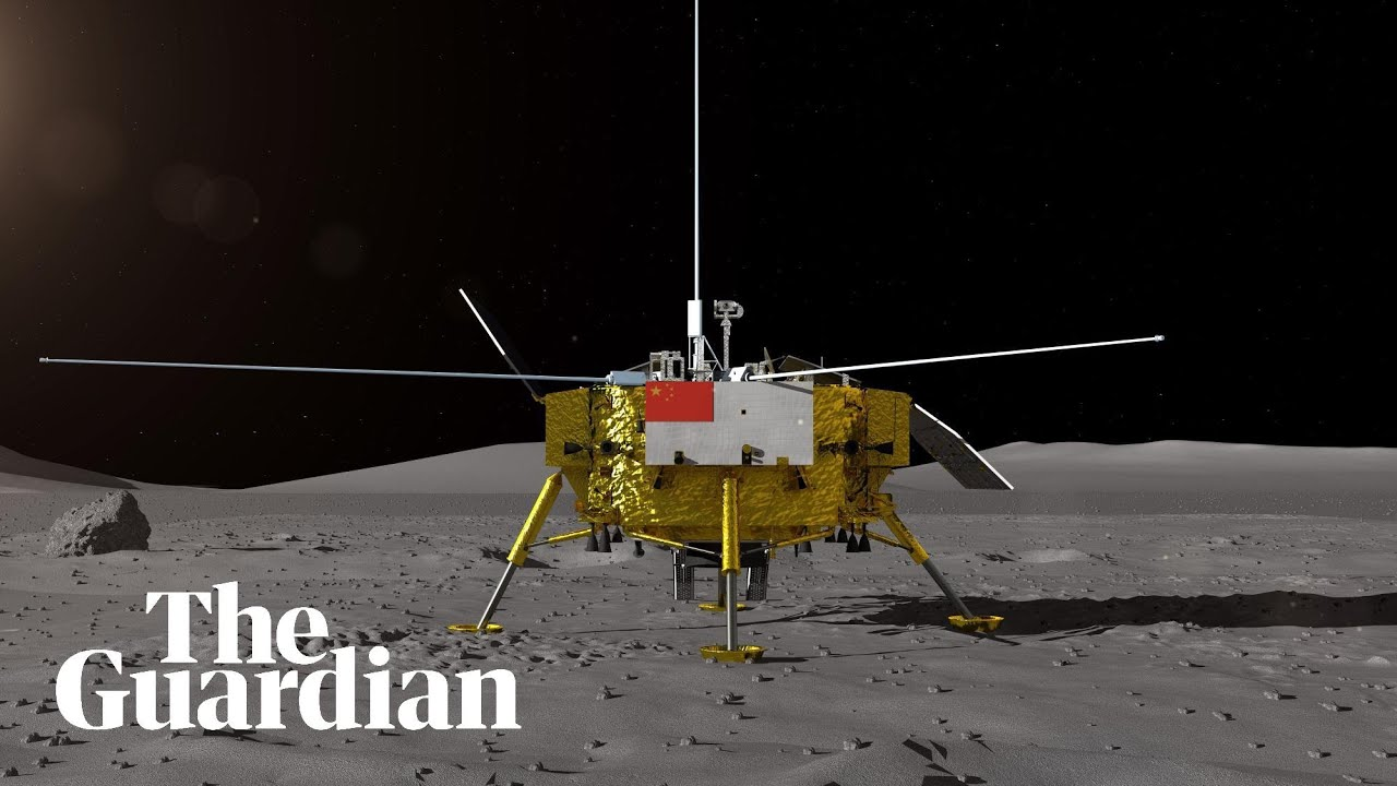 'Dark side' of the moon: China's Chang'e 4 probe makes historic landing –  video explainer