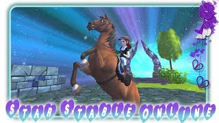 Leveln am Morgen 💜 StarStable Online