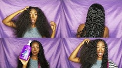 Curly hair extensions routine|Soft manageable curls| Forever Tati