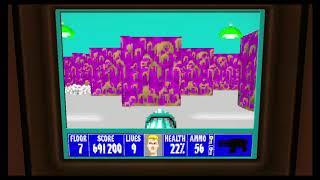 Wolfenstein 3D Episode 6 Floor 7
