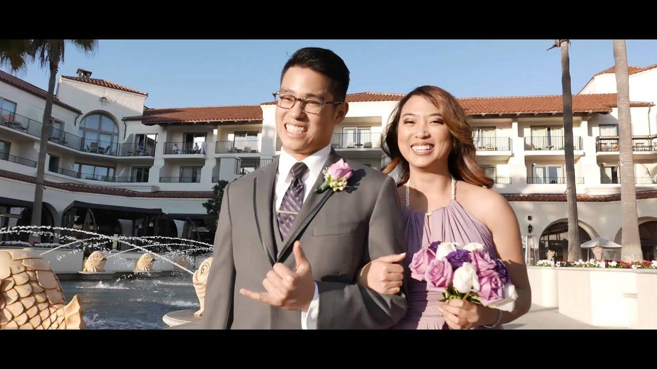 Huntington Beach Wedding By Orange County Videographer Www Luxuryweddingfilms