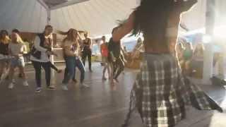 Открытый урок по Dancehall на Sunshine Kemp Moscow