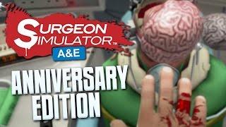 MOTION CONTROLS - Surgeon Simulator: Anniversary Edition - PS4 Gameplay