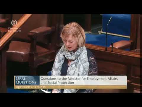 Tommy Broughan TD's pqs with Minister for Social Protection