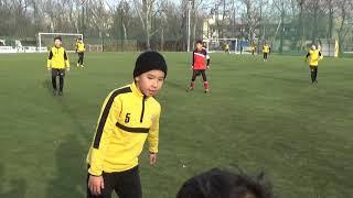 ФК Илбирс Бишкек - ФК Кайрат-2 (2008). (3:6). 1-й тайм. Товарищеский матч. 15.12.18