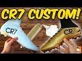 How To Make CR7 Gold Black Superfly! Cristiano Ronaldo Glitter Custom Boots