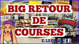 BIG RETOUR DE COURSES // HAUL COURSES