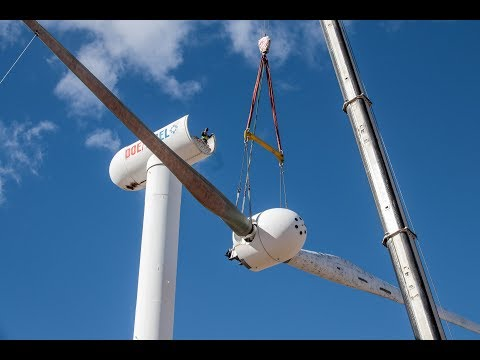"""""""Morphing"""" turbine could lower the cost of wind energy"""