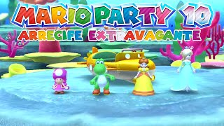 Arrecife Extravagante - Mario Party 10 [con Sylcred]