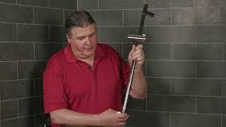 GROHE   Vitalio Flex Shower System   Installation Video
