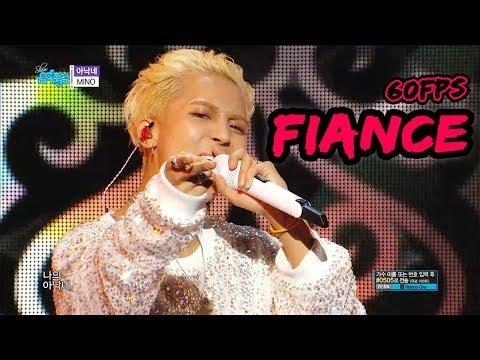 60FPS 1080P   MINO - Fiance, MINO - 아낙네 Show Music Core 20181201