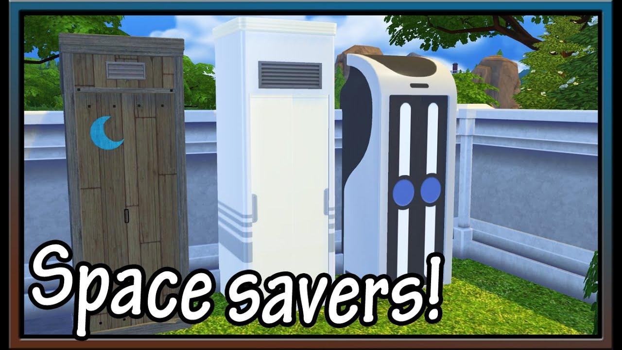 All In One Bathrooms Return? The Sims 4 CC Showcase (Veranka)