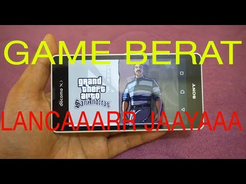 TEST GAMING SONY XPERIA ZR DOCOMO GAME BERAT ( GTA, BULLY, GOD OF WAR PPSSPP, PS1 EPSXE)