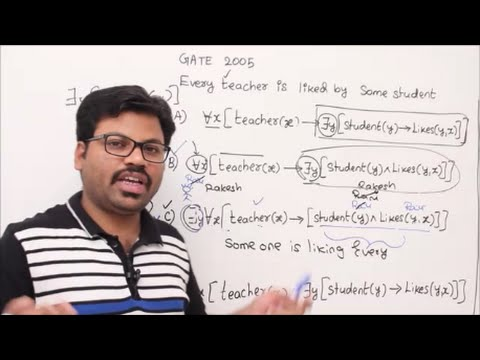 DM-18-First Order logic -Learn To write statements