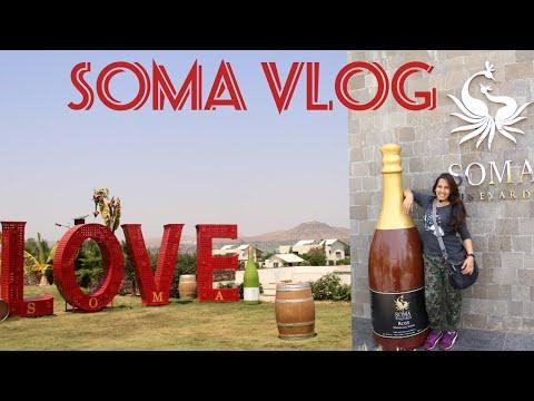 A Day At Soma Vine Village - Nashik | Vlog 2018| OnePlus 5| Nailacious