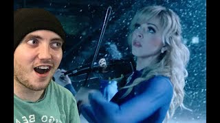 Lindsey Stirling - 'Carol of the Bells' Music Video Reaction!