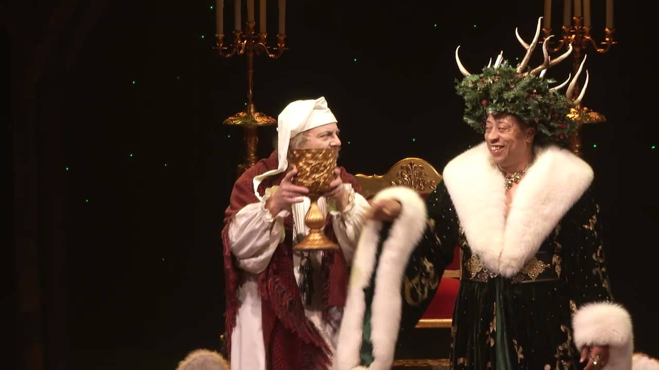 A Christmas Carol at Alley Theatre   YouTube