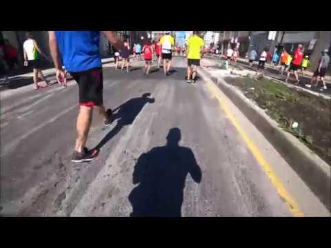 Last 6 Miles Of The 2017 Chicago Marathon