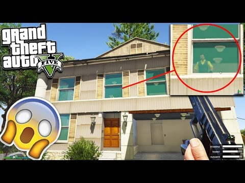 """GTA 5 HELLO NEIGHBOUR SECRET FOUND """"What's Inside Will Shock You"""" (Scary)"""