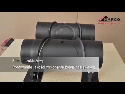Черные стальные дымоходные трубы Darco. Испытание на жаропрочность