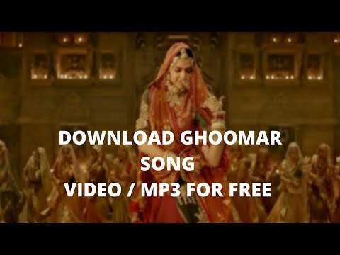 Padmavati Ghoomar Mp3 Download | Music Downloader | Mp3 Download | How to Download MP3 Songs