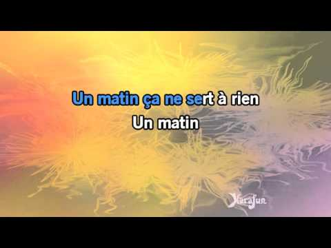 Karaoké Encore un matin - Jean-Jacques Goldman *