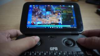 GPD WIN Game Test   DNF2