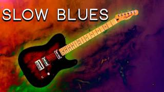 Slow Blues Backing Track for Guitar [G]